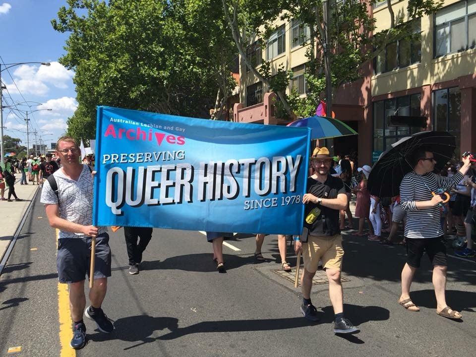 ALGA march at Pride 2018