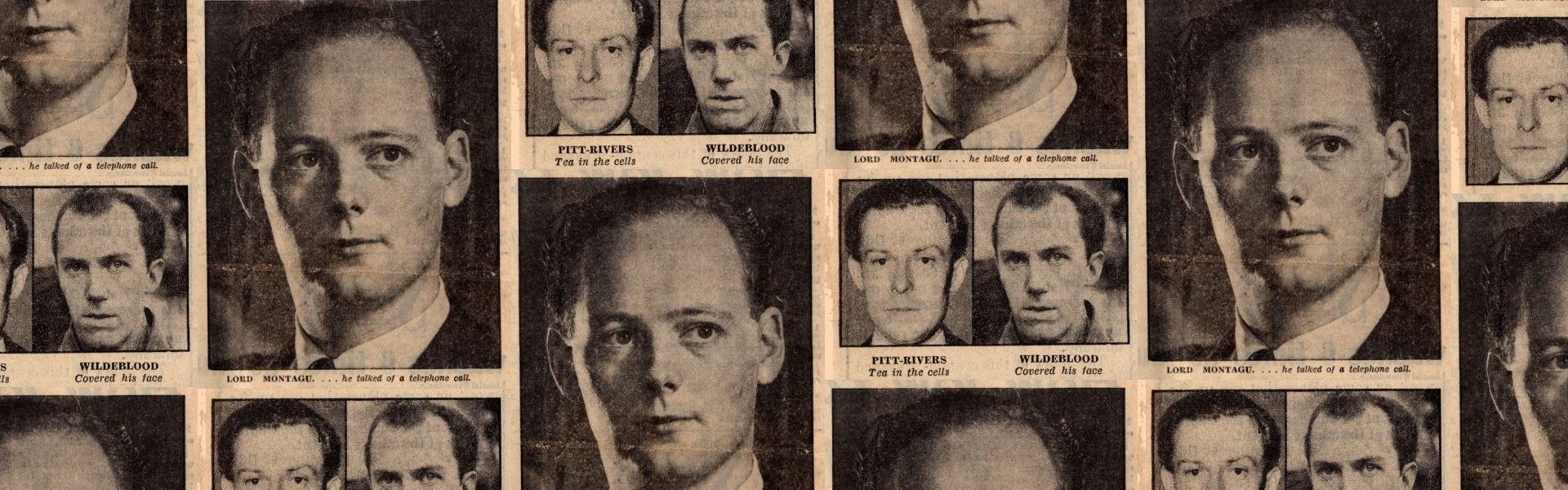 Guilty : Monatagu – 12 months', Daily Mirror (London, UK), 25 March 1954, p1, Papers of GR