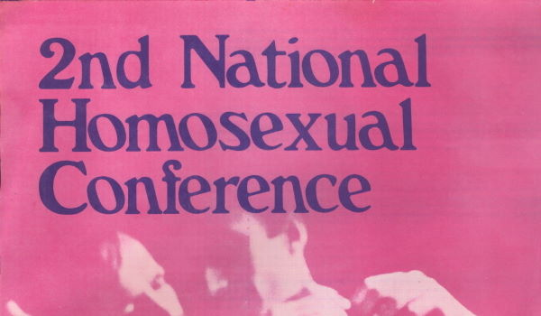 2nd National Homosexual Conference Sydney, August 27-29 (Sydney, 1976), A187 – Feature Web