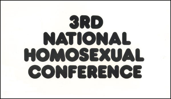 3rd National Homosexual Conference (Adelaide, SA, 1977) A255 – Feature Web