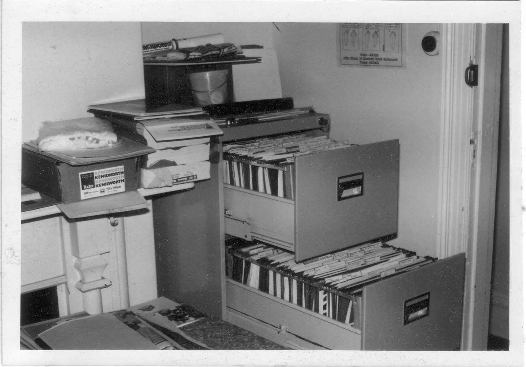 ALGA when at The Hub, 1980-1987, c.1982 (photo: unidentified photographer), Photographs Collection