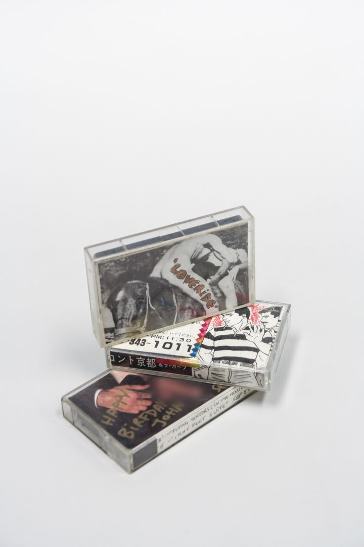 Audio Cassettes, John Langworthy Collection (Photo: Loo Zihan)