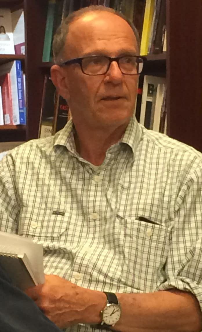 Dennis Altman, Readings, Carlton, Melbourne, Mon 21 Mar 2016 (Photo: Nick Henderson)