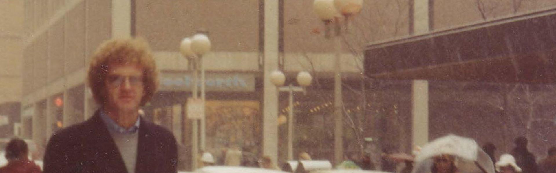 Graham Carbery, US or Toronto, Dec 1977 or Jan1978 – Banner Web