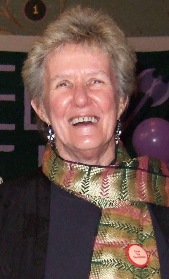 Liz Ross at ALGA's 30th Anniversary Gala Dinner, Fitzroy Town Hall, 22 August, 2008 (Photo: unidentified photographer)