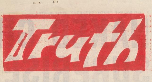 [Masthead], Truth (Melbourne), 1968