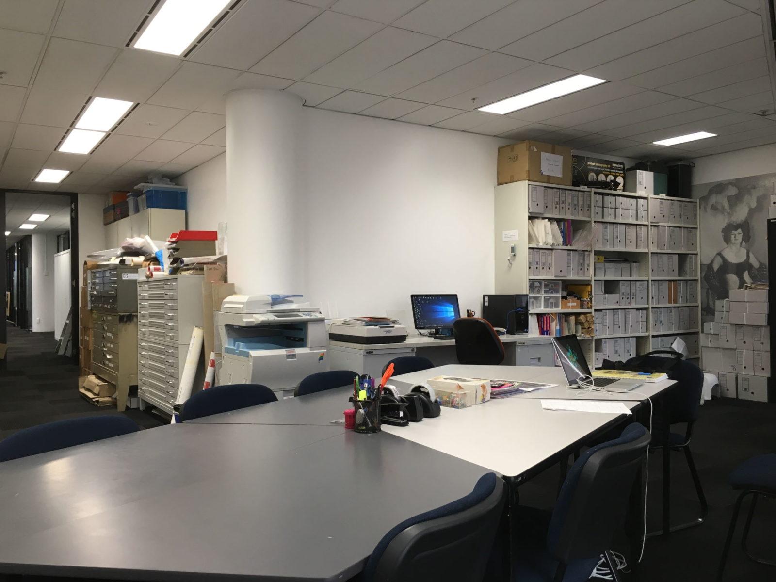 ALGA Reading Room, 615 St Kilda Road Melbourne, 2020 (photo: Kathy Sport)