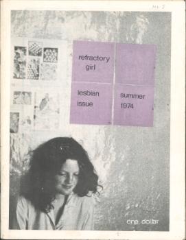 Refractory Girl n.5, lesbian issue summer 1974 (Sydney, NSW)