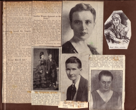 Scrapbook compiled by Ethel May (Monte) Punshon n2, 1923-1950s, p6, Papers of Monte Punshon