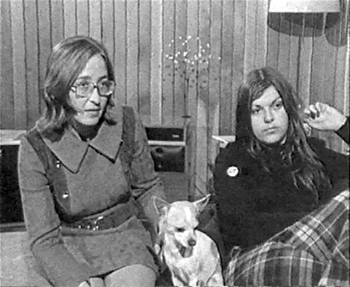 [Still from Chequerboard : This just happens to be part of me (Sue and Gaby)] (Sydney : ABC TV, 1972)