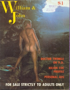 William and John, n.1, January 1972 (North Manly, NSW)