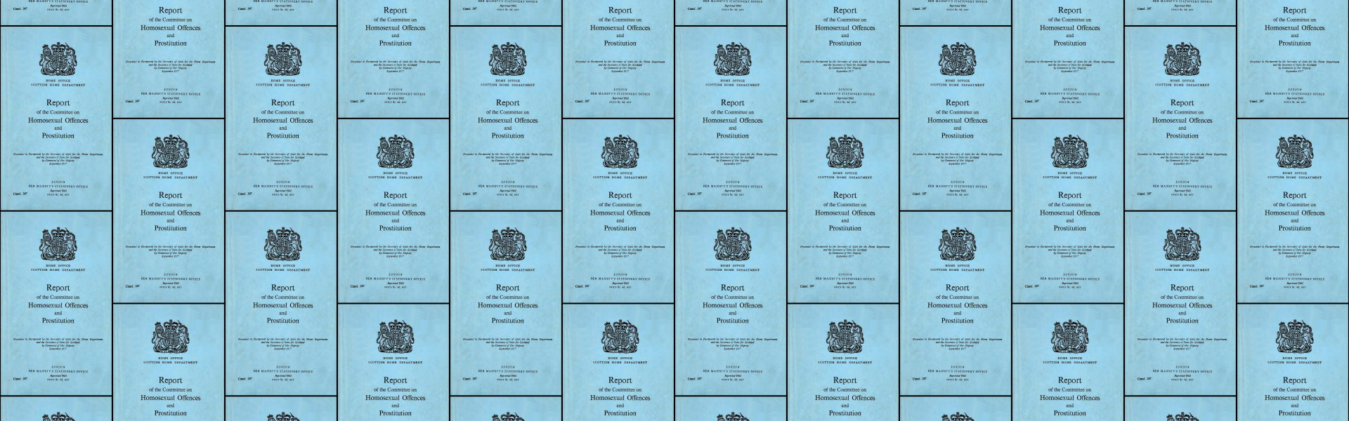 [Wolfenden Report] Report of the Committee on Homosexual Offences and Prostitution / Committee on Homosexual Offences and Prostitution, Great Britain (London, United Kingdom : Her Majesty's Stationery Office, 1968)