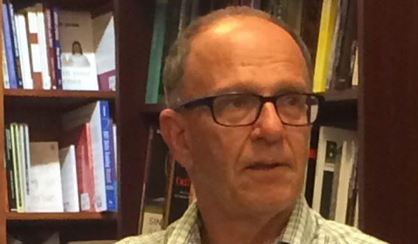 Dennis Altman, Readings, Carlton, Melbourne, Mon 21 Mar 2016 (Photo: Nick Henderson)